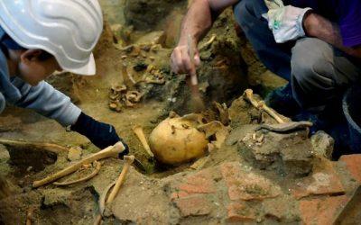 Irzón digitaliza excavación arqueológica para la Asociación de la Memoria Histórica.